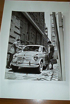 Fiat 600 Official Factory Photograph
