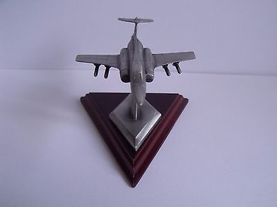Boxed English Miniatures Pewter Aircraft Sculpture 'the Buccaneer'