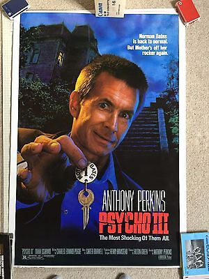 PSYCHO III Poster Anthony Perkins