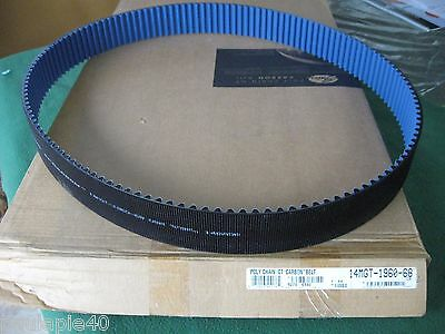 """New Gates Poly Chain Gt Carbon Belt 14Mgt-1960-68 140 Teeth 77.17"""" Long  68Mm Wi"""