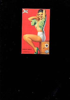 Pin-up Girl Karte Visibility perfect  ca. 1945  Mutoscope Card U.S.A.