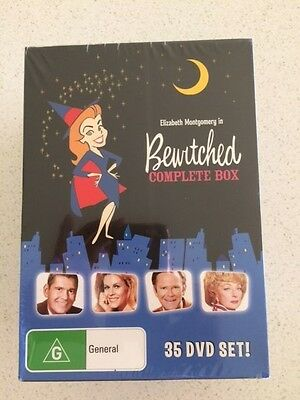 Bewitched - The Complete Box Set. (DVD 35-Disc) Brand New & Sealed.