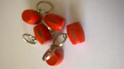 Watneys Red Barrel Key Rings x 5