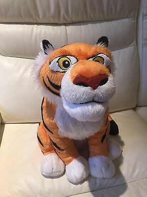 "*Disney Store* Rajah The Tiger From Aladdin Large Soft Plush Toy 15"" Tall VGC"
