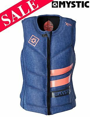 NEW Mystic X Series Zip Wakeboard Waterski Impact Vest Large SAVE 15%