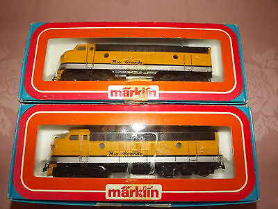 Marklin HO 3062 and  4062 Loco  boxed and unused