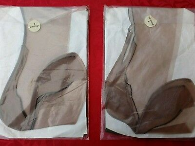 2pair of vintage fully fashioned nylon stockings,very rare.