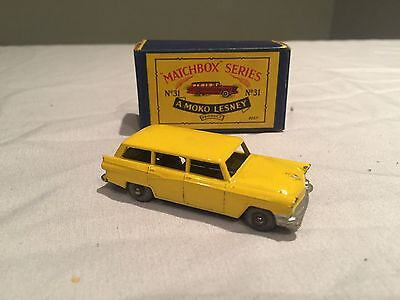 Matchbox Moko Lesney No31 - Bedford Station Wagon