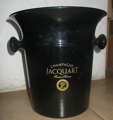 Seau glace champagne JACQUART Reims France French Vintage Champagne Bucket
