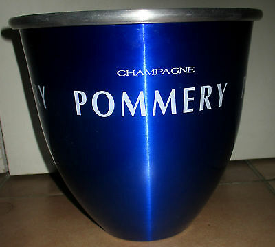 Seau glace champagne POMMERY bleu Collector French Vintage Champagne Bucket