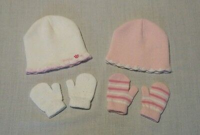 hat and mitten sets size 6-12 months