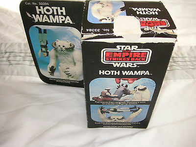 1980 vintage star wars ESB boxed palitoy hoth wampa