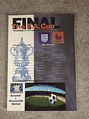 1998 FA Cup Final Programme - Arsenal v Newcastle United