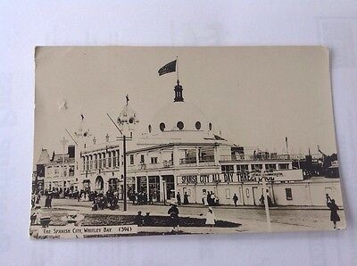Vintage Postcard - Spanish City , Whitley Bay , Tyne & Wear .