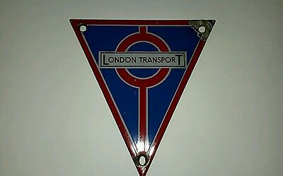 London Transport RT enamel bus radiator badge.