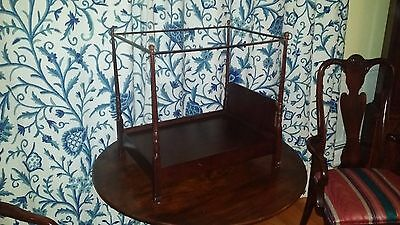 """The Bombay Company 4 Poster Canopy Doll Bed Fits 18"""" Dolls American Girl"""