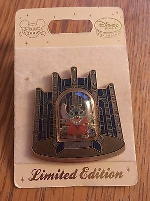 Rare Stitch Tower Of Terror Pin Badge