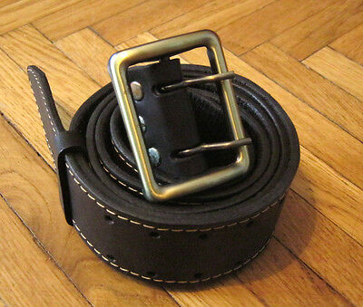 Russian Military Officer Leather Belt Uniform NEW