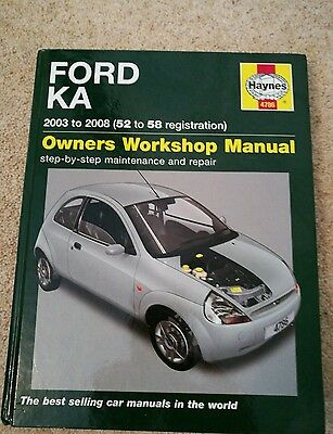Ford ka workshop manual 2003 - 2008
