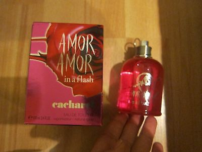 New Amor Amor CACHAREL In A Flash 100ml  EDT Eau De Toilette Spray For Her