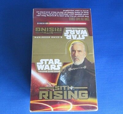 Star Wars Trading Cards Sith Rising - 36 Boosters (5 cards each)