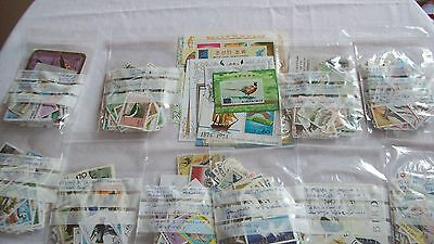 Bird Stamp Collection, 1071 Different, Thematic Collection, includes Mini Sheets