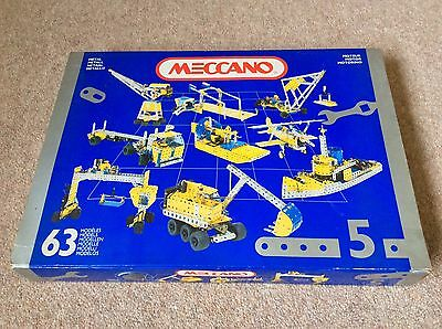 Vintage Meccano Set 5 Very Rare Late 80's / Early 90's