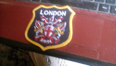 LONDON sew on patch