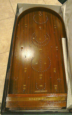 New Jaques London Grand Hit-A-Pin Bagatelle vintage wooden game