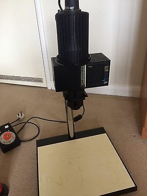 Black And White Photography Darkroom Enlarger And Equipment