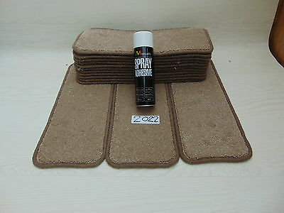 Carpet / Stair pads 50 cm Wide 14 off  and  with a FREE  can of SPRAY GLUE 2022