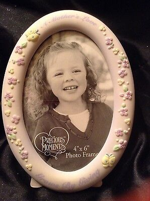 Precious Moments ~ Picture Frame ~ 4 X 6 ~ A Mothers Love Grows by Giving