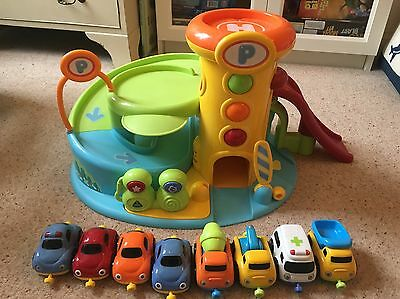 Early Learning Centre Car Garage and Cars
