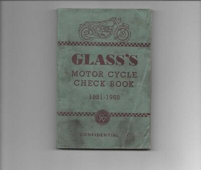 Glass's Motor Cycle Check Book 1951 - 1960 Guide