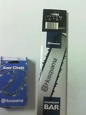 Husqvarna Chainsaw Guide Bar And Chain 18""