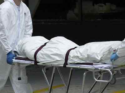 New! Centurion SP3160 Shroud Cadaver Body Bag with I.D. Tags & Gown Latex Free!