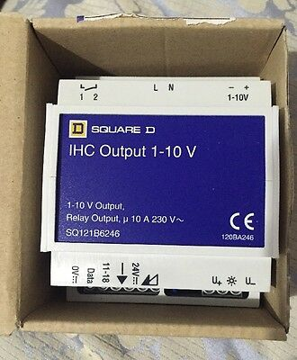 Square D IHC Output 1-10v SQ121B6246 Relay Switch