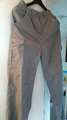 Ladies Craghoppers walking trousers size 10
