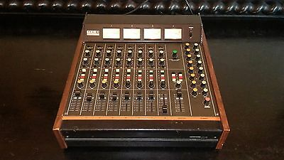 TEAC Tascam Model 3 Audio Mixer Pro-Audio FULL WORKING 8 Channel RARE + Manual