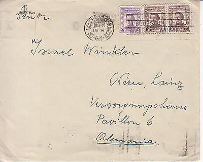 Uruguay: Cover, Montevideo to Germany, 3 June 1939