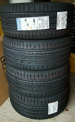 4x Goodyear Eagle F1 Asymmetric 2 Tyres - 225/40 R18 92Y XL. *** Brand New ***