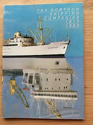 The Gorthon Shipping Companies - A World Ship Society Publication