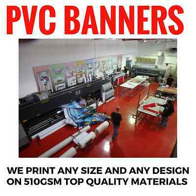 3' X 6' custom full color vinyl banner high quality print for indoor/outdoor