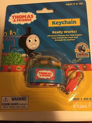 Thomas and friends Keychain with miniture station