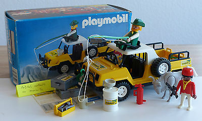 Playmobil Expedition Ngorongoro Nr. 3528 der 80er Jahre mit OVP