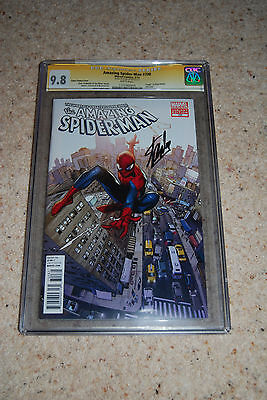 Amazing Spider-man 700 Coipel Variant CGC 9.8 Signed by Stan Lee