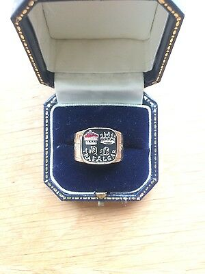 HMS Victory Lord Neslon Limited Edition Mourning Ring