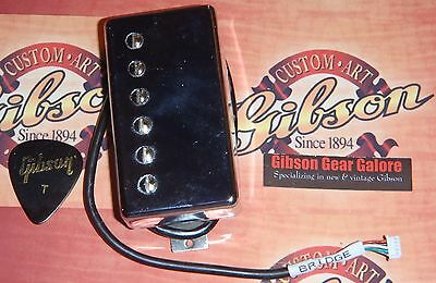 Gibson Les Paul Super 57 Classic Chrome Pickup Bridge Guitar Parts Humbucker SG