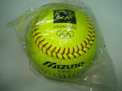Softball - Athens 2004 Olympic Games - Mizuno Game Ball - Mint Authentic