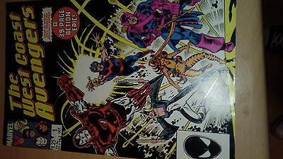 West Coast Avengers #1 October 1985 VFN- (38 pages)